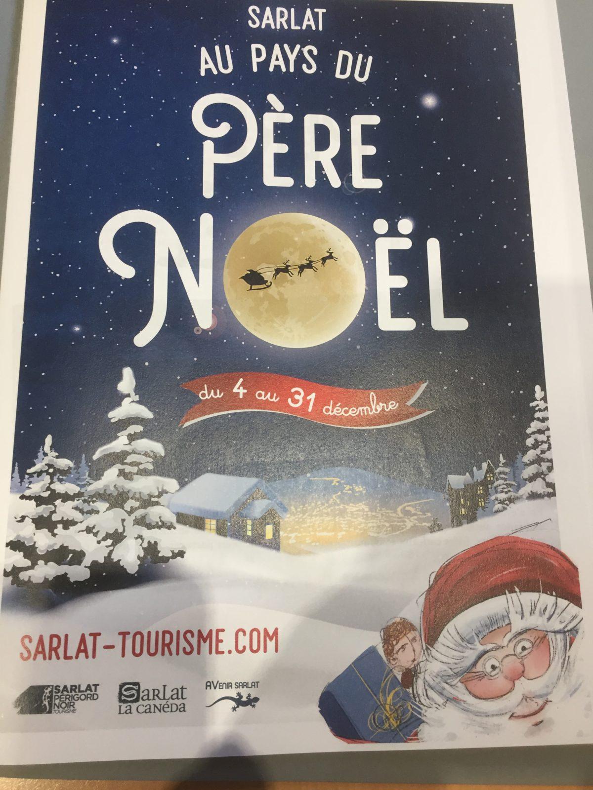 En attendant le 07/12 à 17h30 lancement du marché de Noel de Sarlat
